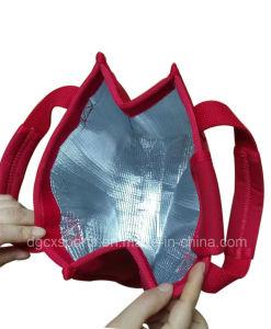 2018 Sac de glace d'eau avec sac de refroidisseur d'aluminium