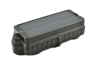 3G WCDMA Solar-GPS G/M GPRS Verfolger Tk20gsse für Fahrzeug-Istzeit aufspüren3g Trakcer 20000mAh