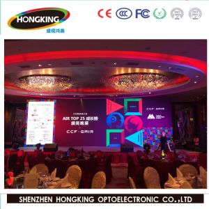 P4 de l'intérieur RVB Full Colour Creative Nationstar Affichage LED Flexible avec lampe à LED
