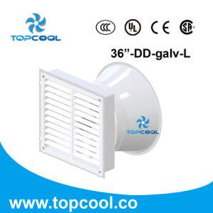 Sistema di raffreddamento della vetroresina del ventilatore a flusso assiale 36 di ventilazione