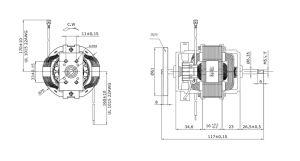 El Batidor de Huevos Easy-Fit procesador de alimentos Universal Motor con aprobación CE