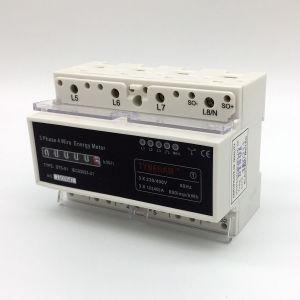 Метр силы Rial DIN 3 проводов Dts-4r трехфазный