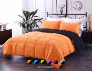 Comercio al por mayor de microfibra poliéster de color sólido cama consolador
