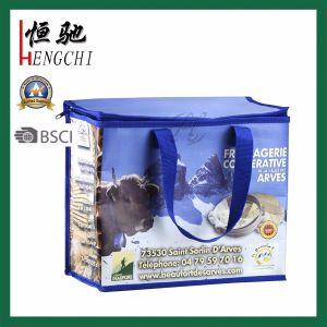 Feuilleté de glace non tissé sac isotherme de pique-nique du refroidisseur