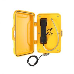 Водонепроницаемый Телефон горячей линии телефонной связи, Anti-Vandal телефон для туннеля, добыча полезных ископаемых