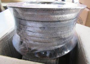 Grafito trenzada suave profesional de la glándula ampliado el embalaje protector con alambre de Inconel