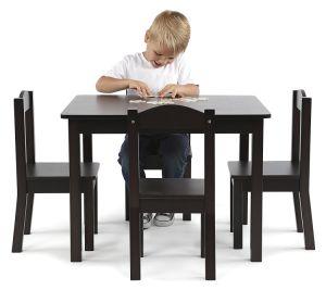 Mesa e cadeira equipamento escolar para crianças de creches/Crianças