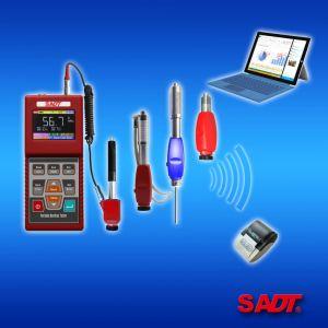 Testeur de dureté Leeb portable équipé de sonde numérique par câble / sonde sans fil (HARTIP3210)