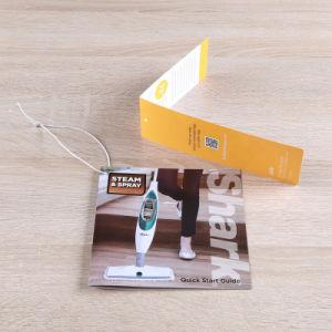 習慣によって折られるペーパーフライヤ、倍増のフライヤの印刷、3つのフォールドのリーフレット