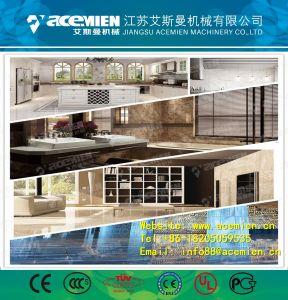 En PVC/imité en plastique/artificiel/synthétiques ou artificielles en imitation marbre synthétique//feuille décorative/Board/Conseil/plaque de mousse/Tile/panneau mural/bande PROFIL/PROFIL/machine de décoration
