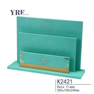 Yrf bleu marine avec carte Livre blanc en simili-cuir