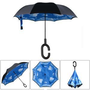 Migliore maniglia stampata del baldacchino disegno d'inversione C del doppio dell'ombrello per l'automobile