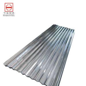 Lamiera di acciaio galvanizzata ondulata per gli strati del tetto