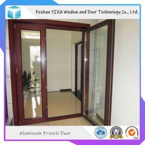 Portello della stoffa per tendine dell'alluminio di colore personalizzato rivestimento 2.0mm della polvere con il vetro Tempered del doppio 5mm