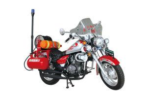 新しい水霧の火のオートバイ、消火器のオートバイ