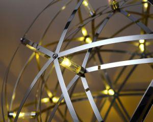 Hotel de moderno diseño de iluminación LED lámpara de araña de luz colgantes