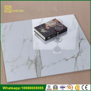 3D белого цвета с остеклением полированным фарфор керамический пол плиткой из Китая