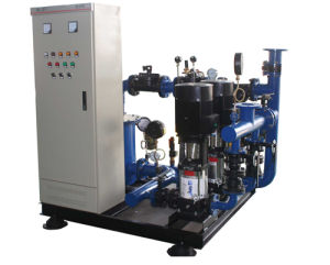 Nenhum equipamento de alimentação de água de pressão negativa