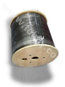 1/2/4 núcleos FTTH Council auto-suporte de aço galvanizado Cabo de Fibra Óptica