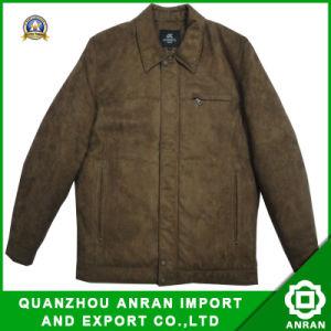 Coat Jacket degli uomini per Fashion Clothes (Padded SuedeAr2009-109)