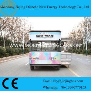 Vrachtwagen van het Snelle Voedsel van de lage Prijs de Elektrische met Ce
