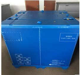 De PP de plástico dobráveis Caixa de paletes de plástico dobrável de empilhamento
