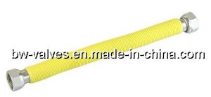 Yellow PVC를 가진 S/S Corrugated Flexible Gas Hose