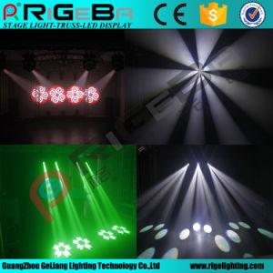150W de alta calidad LED blanco en movimiento haz de luz de la etapa de la cabeza