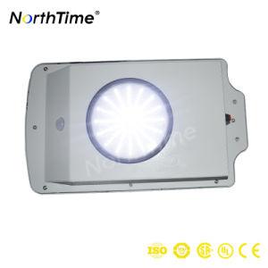 新製品4の雨の日の照明時間小さいワット統合されたLEDの太陽街灯