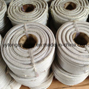 L'emballage en fibre de coton blanc avec de la Vaseline