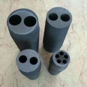 Molde de grafite para fundição de tubo de latão