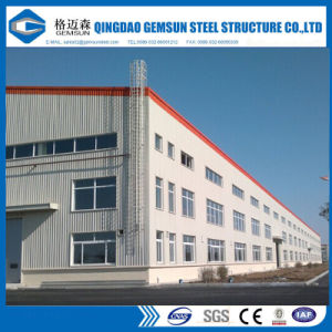 El ingeniero de la fabricación diseñó las estructuras de acero del marco porta