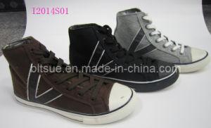 Os homens de alta moda sapatos de lona