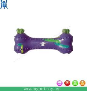 "7 "" in Rubber Treat Toy, Rubber Bone, Dog Toy"