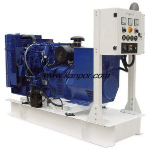 Elektrischer Generator angeschalten durch Großbritannien-/England-Motor