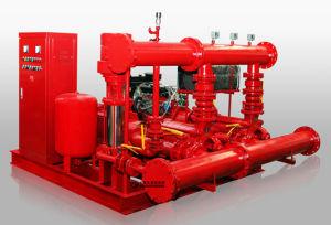 Pompa antincendio impaccata ad alta pressione del motore diesel