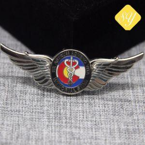 Zoll/Ehre/Großhandels-/Metall/Armee/Militär-/Namen-/der Polizei-/Pin Abzeichen-Preis