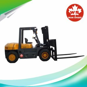 6 Diesel van de ton Grote Hydraulische Vorkheftruck met Goede Kwaliteit en Uitstekende Prijzen