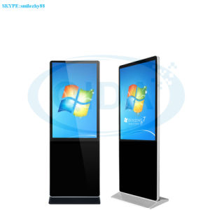 선수 디지털 Signage를 광고하는 42 인치 접촉 스크린 간이 건축물 WiFi