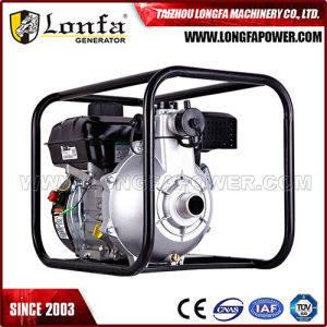 5.5HP 2 pulgadas de la gasolina del motor de gasolina pequeño portátil de la bomba de agua