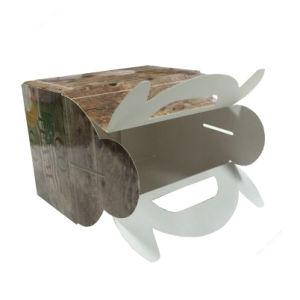 ورقيّة [بروون] علبة صندوق مع علامة تجاريّة