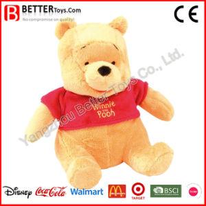 Giocattolo molle dell'orso dell'orsacchiotto di Winnie della peluche dell'animale farcito per i capretti /Children