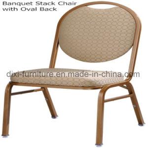 習慣の背部が付いているレストランの家具の宴会スタック椅子