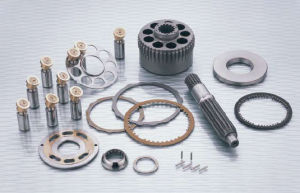 M2X Série M2x63 les pièces de moteur de pivotement de l'excavateur hydraulique EX200 - 2 / 5