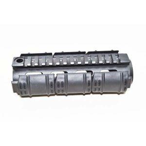 Алюминиевые 6.7inch AR15m4 винтовки длина Carbine Уивер/Picatinny Quad Handguard топливораспределительной рампе