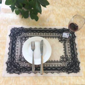 Het Dineren van de Lijst van het Silicone van de Prijs van de fabriek RubberMat met Druk