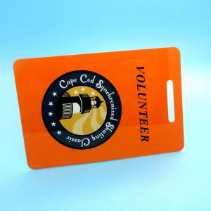 Scheda trasparente classica del codice a barre del qr di MIFARE EV1 1K RFID VIP
