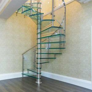 Diseno De Escaleras Interiores De Los Pasos De Vidrio Escalera De - Diseo-escaleras-interiores
