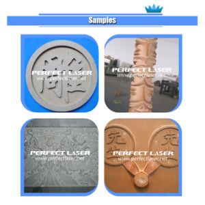 ranurador de piedra de mármol del CNC del grabado 3D de la piedra sepulcral de 1300*2500m m para la venta