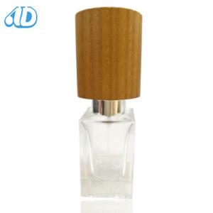 Ad-P457 verre bouteille de parfum Hand-Made bouchon en bois